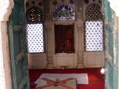 One of Meherangarh's many bed rooms; Jodhpur