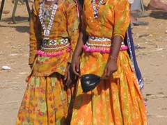 Traditional outfits; Pushkar festival