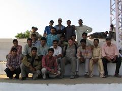 Group photo; Pushkar's Mela Grounds