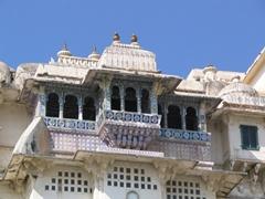 Ceramic tile work; Udaipur city palace