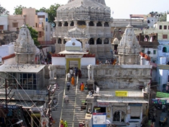 Bird's eye view of Jagdish Temple; Udaipur