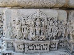 Detail of the Ranakpur temple column