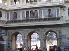 Portal to the Gangaur Ghat