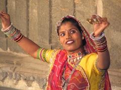 Traditional Rajasthani performance; Bagore-ki-Haveli
