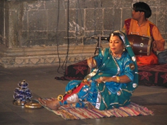 Rajasthani dance performance at the Dharohar