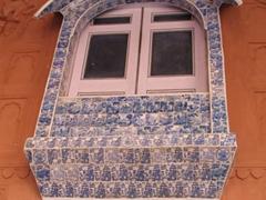 Porcelain window; Junagadh Fort; Bikaner