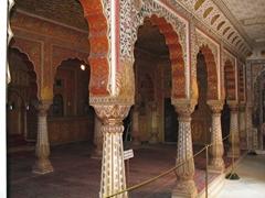 Amazing archways; Junagadh Fort