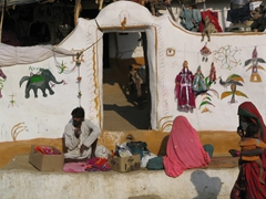 Local Jaisalmer village; very cute!