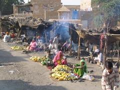 Typical market; Jaisalmer