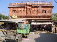 Backdrop of Sardar market