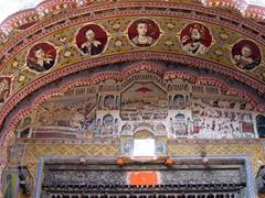 Detailed archway; Nawalgarh