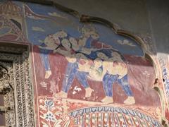 Ornate painting; Bansidhar Bhagat Haveli; Nawalgarh