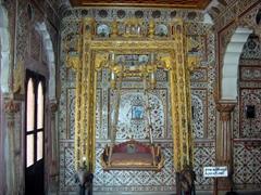 Golden swing; Junagadh Fort