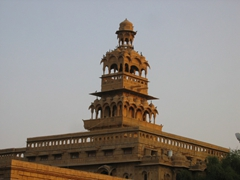 Ornate tower; Jaisalmer
