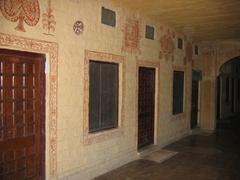 Hallways of the Narayan Niwas Palace Hotel; Jaisalmer