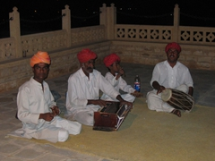 Roof top entertainment, Jaisalmer