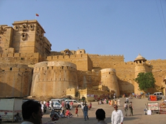 Entrance to Jaisalmer Fort