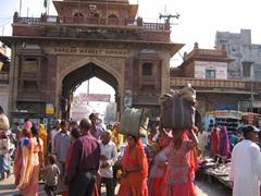 Sardar Market's main archway; Jodhpur