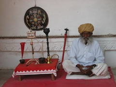 Grumpy old man; Meherangarh Fort