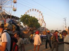 Crowded street; Pushkar Camel Festival