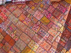 Interesting patchwork; Pushkar