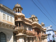 Typical architecture; Pushkar