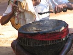 Wedding musician, Soura tribal man