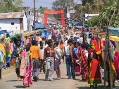 Colorful Kotagarh weekly tribal market