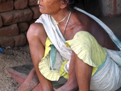 Dokra tribal woman