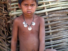 Dokra tribal boy