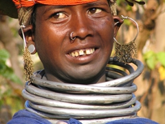 Beautiful Bonda Tribal Woman