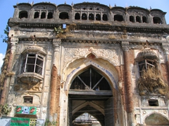 Dilapidated King's Palace, Jeypore