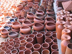 Clay souvenirs galore at the Tribal Artisan's Organization