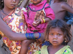 Parajas Tribal Children, Junagara Village