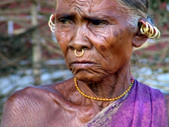 Elder Parajas Tribal woman