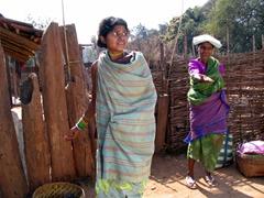 Dhuruba tribal women ask for more candy for their children...we didn't feel like encouraging this behavior