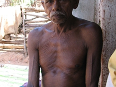 Kondh Tribal male in the Pirikudi Village