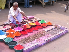 Incense for sale, Jagannath Temple, Puri
