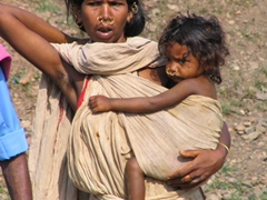 Dongariya Tribeswoman and child