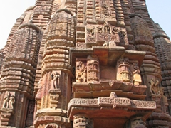 Amazing detail, Rajarani (King & Queen) Temple, Bhubaneswar