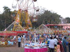 Entertainment at the Kharavela Festival, Udaigiri