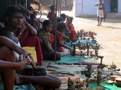 Dokra Tribal Village proudly displays bronze work for sale