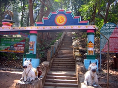 Entrance to Gupteswar Cave Temple