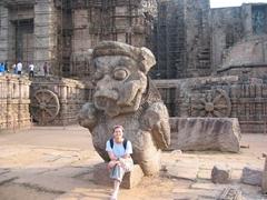 Konark Sun Temple is absolutely huge!