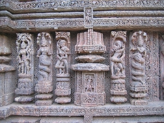 More naughty poses; Konark Sun Temple