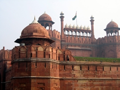 Delhi's Red Fort is worth a visit if you have time to spare in the capital