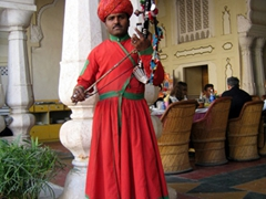 One of the musicians providing us with lunch time entertainment, Amber Palace
