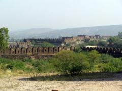 Lots of walls remain intact at Rohtas Fort