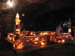 Underground Mosque built entirely of salt, Khewra Salt Mine