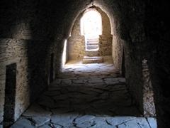 Monk's meditation cells, Takht-i-Bahi